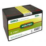 Batterij 9 Volt-380 Wh 55 Ah