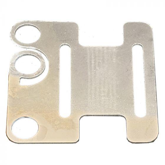 Verbindings- en ankerplaat, RVS/INOX