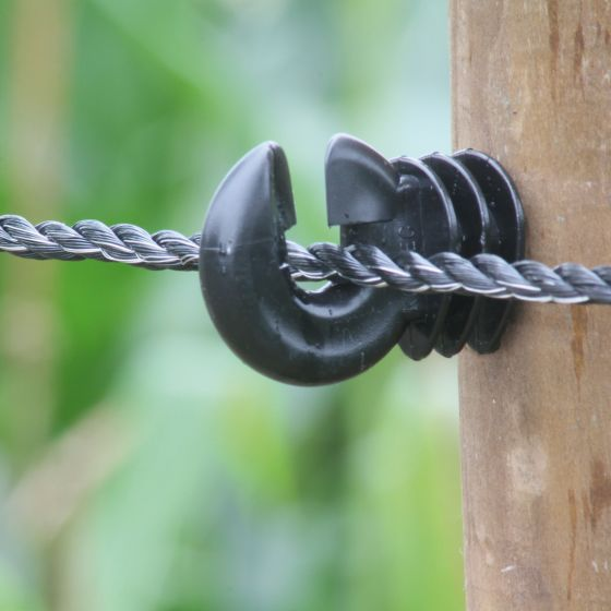 Koord, PE zwart, 6 mm