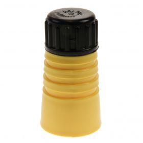 Dumpis. KOLTEC geel+zwarte dop