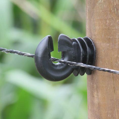 Draad, zwart, ± 3,5 mm